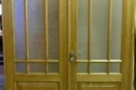 Divviru durvju montāža